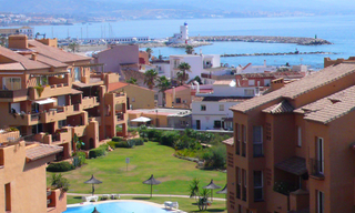 Appartement penthouse de plage à vendre, La Duquesa, Costa del Sol 3