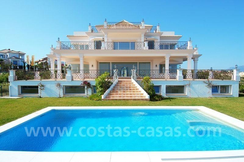 Villa luxe vendre golf benahavis marbella estepona costa for A vendre villa de luxe