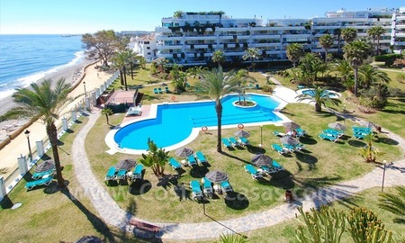 Appartement contemporain de plage à vendre, Mille d' Or, Marbella