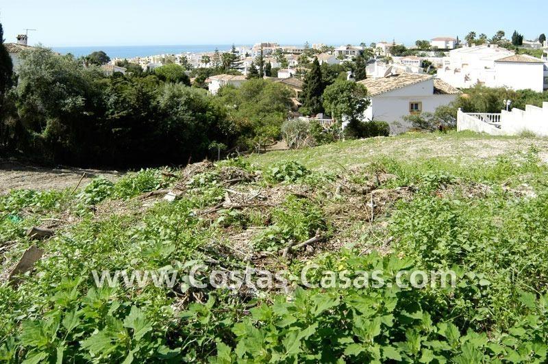 Bonne affaire terrain pour villa vendre mijas costa for Pret pour terrain seul
