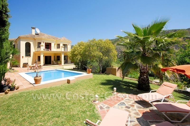Villa de luxe vendre benahavis for A vendre villa de luxe
