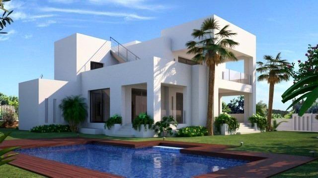 Villa De Luxe Moderne : Villa moderne à vendre marbella