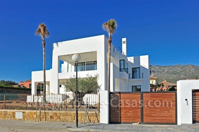 Villa moderne vendre marbella - La contemporaine residence de plage las palmeras ...