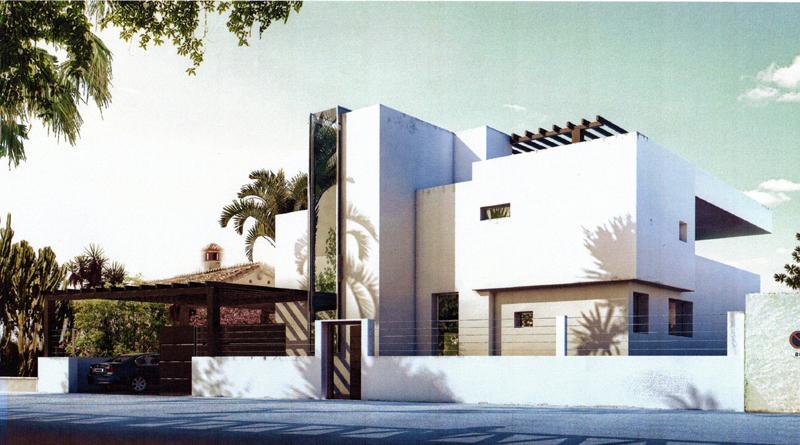 Nouvelle villa moderne vendre marbella for Facades des villas modernes