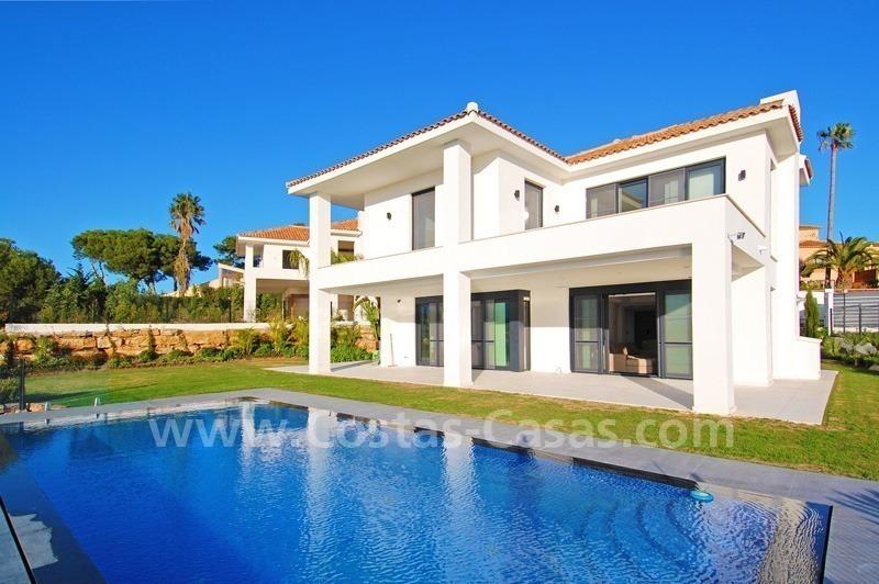 Villa moderne luxe vendre marbella - Couleur de gevel de maison moderne ...