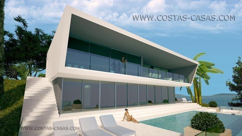 Villa De Luxe Moderne A Vendre : Villa moderne luxe à vendre marbella estepona costa del sol
