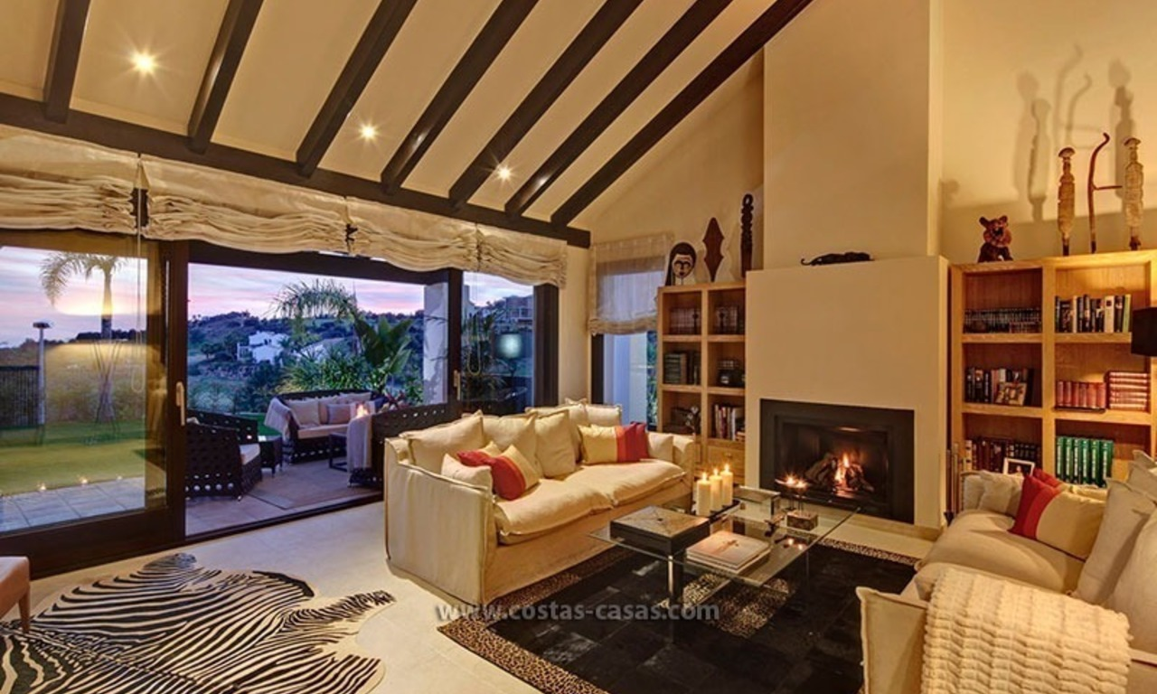 Villa de luxe contemporaine en seconde ligne de golf à vendre à Marbella - Benahavis 26