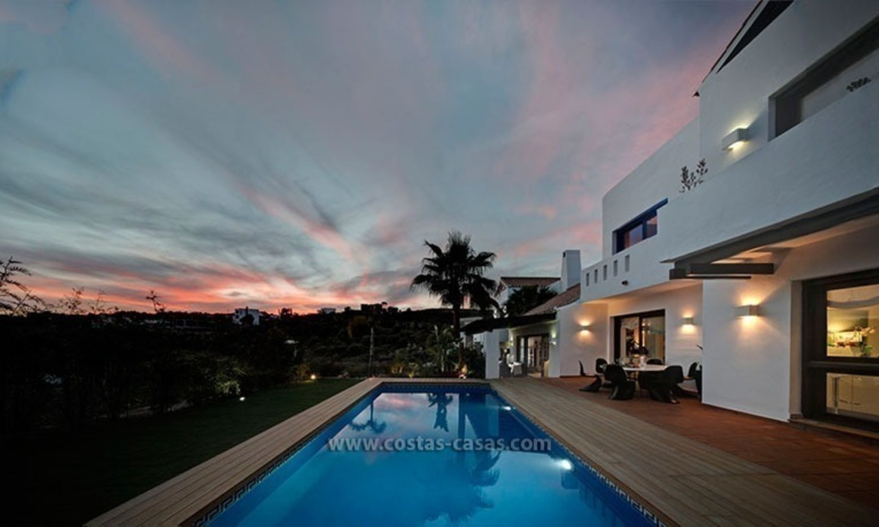 Villa de luxe contemporaine en seconde ligne de golf à vendre à Marbella - Benahavis 35