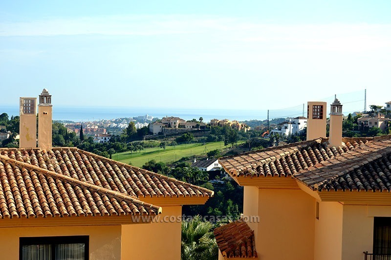 En vente � Marbella - Benahavis: Appartement de golf