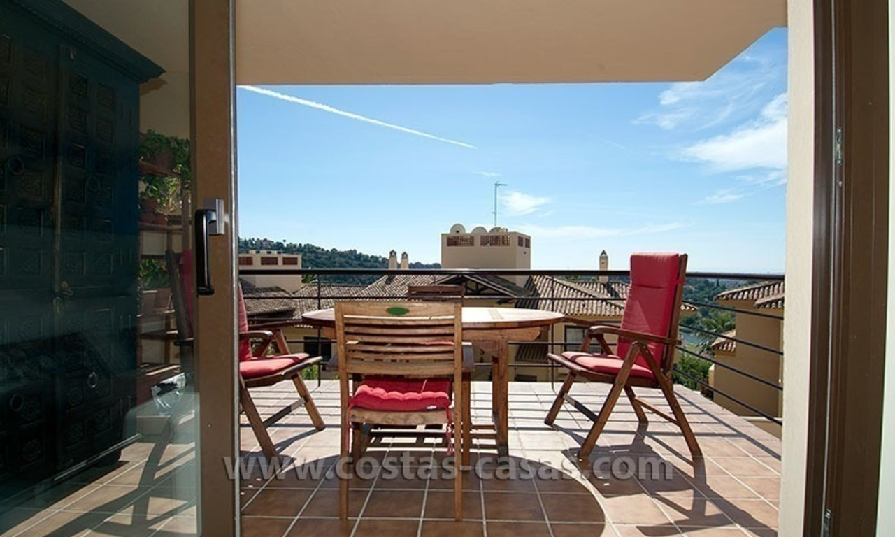 En vente à Marbella - Benahavis: appartement double 7