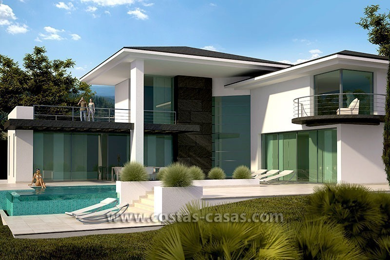 Vendre villa luxe contemporaine marbella golden mile for Model de villa de luxe