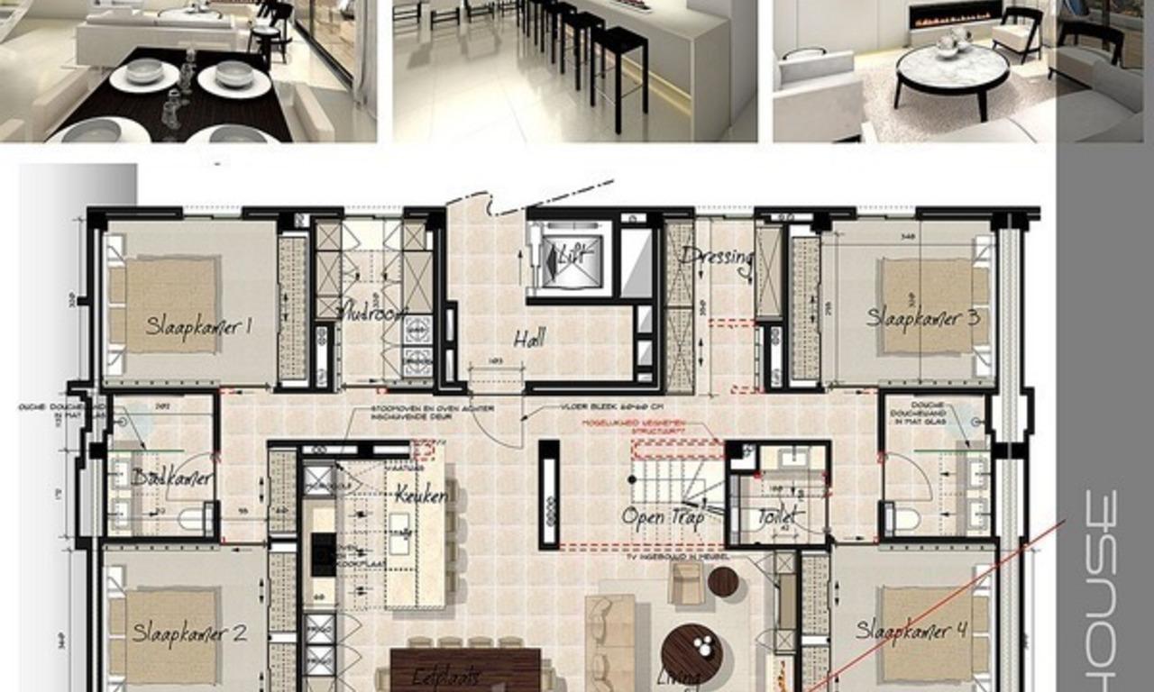 Vendre villa luxe contemporaine marbella for Plan de villa de luxe