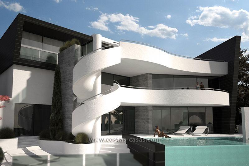 Vendre villa luxe contemporaine marbella for Facade villa de luxe moderne