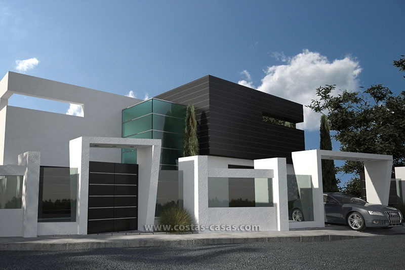 vendre villa luxe contemporaine marbella. Black Bedroom Furniture Sets. Home Design Ideas