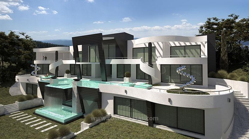 vendre nouvelle villa luxe ultramoderne marbella. Black Bedroom Furniture Sets. Home Design Ideas