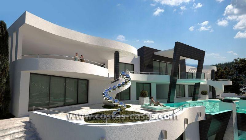 Villa De Luxe Moderne A Vendre : À vendre nouvelle villa luxe ultramoderne marbella