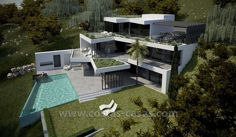 A A Dva Arhitekta A White House With An Abstract Exterior Design 2815 additionally Luxury House Design Plans Ideas likewise 31892 moreover A Vendre Nouvelle Villa Moderne Luxe Marbella 112769 in addition Chic Luxury Traditional Hall Other Metro. on modern mansion designs