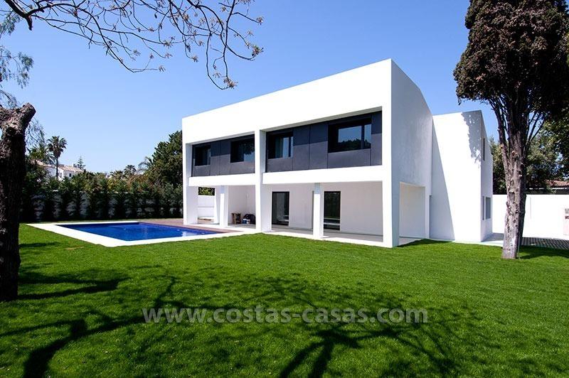 nouvelle villa luxe moderne vendre marbella. Black Bedroom Furniture Sets. Home Design Ideas