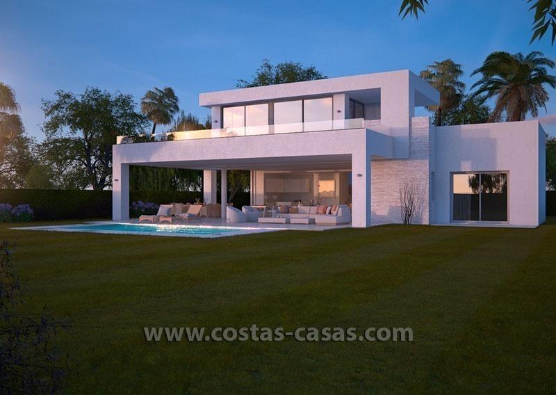 L gante villa moderne luxe nouvellement construite marbella for Villa moderne prix