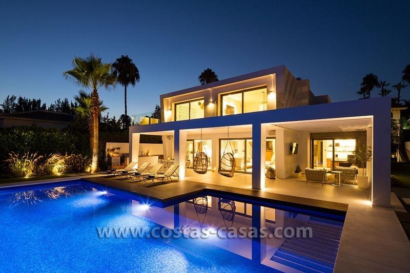 Vendre grande villa contemporaine nueva andaluc a marbella for Best villa designs in the world