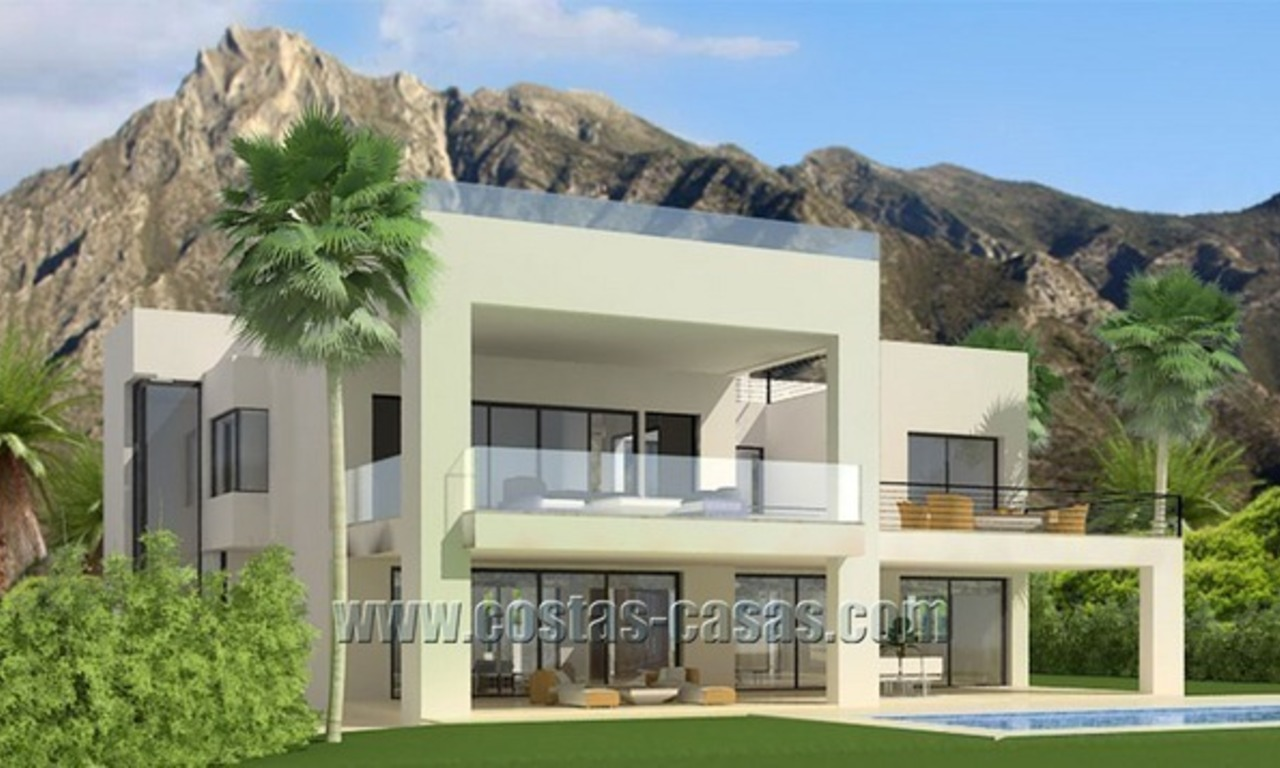 À vendre: Villa moderne de luxe sur The Golden Mile à Marbella 1