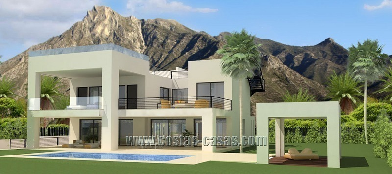 Vendre villa moderne luxe the golden mile marbella for Model de villa de luxe