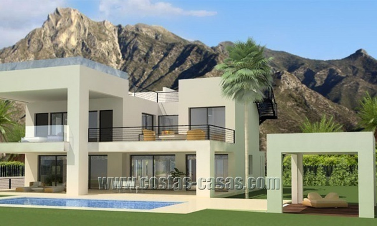 À vendre: Villa moderne de luxe sur The Golden Mile à Marbella 0