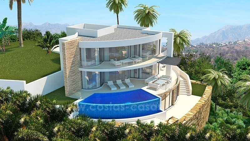Villa De Luxe Moderne A Vendre : Villas luxe moderne à vendre marbella benahavis