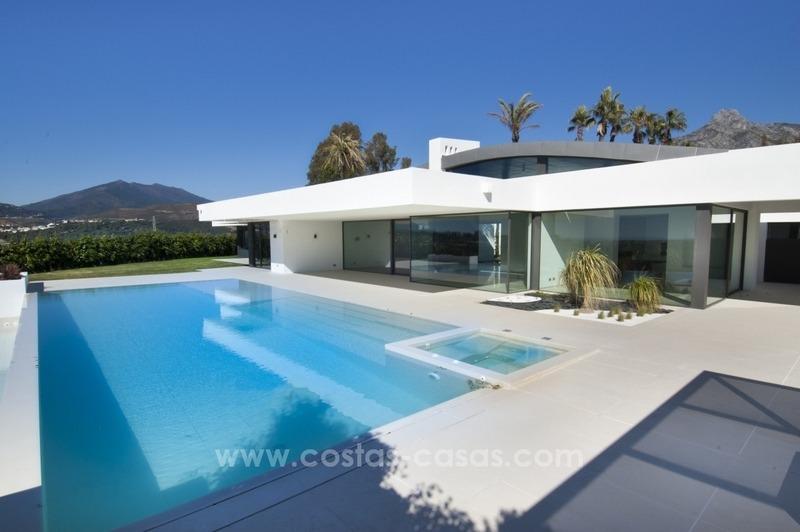 Nouvelle Villa Moderne Vendre Sur La Mille D Or Marbella