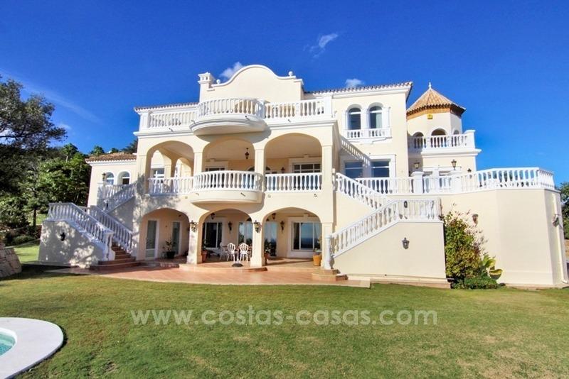 Belle villa classique vendre marbella club golf - Image de belle villa ...