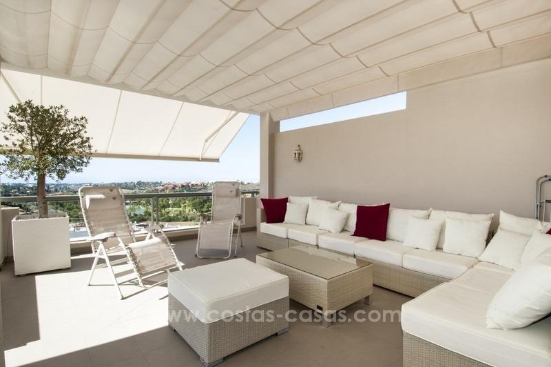 Penthouse appartement contemporain luxe vendre marbella - Casas de lujo en marbella ...