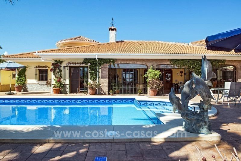 Grande villa vendre proximit de m laga costa del sol - Casa plus malaga ...