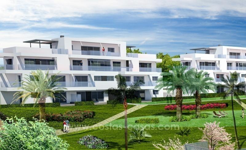 Nouveaux Appartements Modernes, De Luxe, à Vendre à Benahavis, Marbella 3.  Fullscreen
