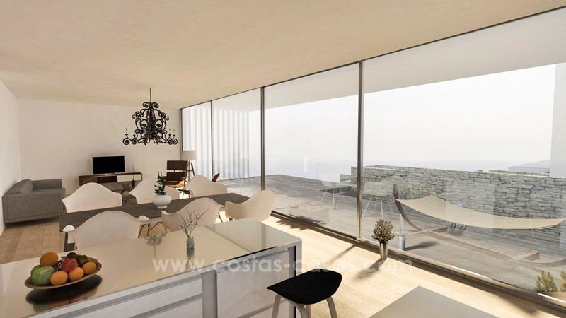 Nouvelle villa de luxe moderne en bord de mer à vendre à l'Est de ...