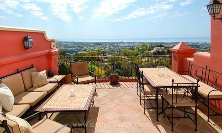 Vue Mer Panoramique 3 Bed Penthouse Appartement à vendre à Marbella - Benahavis