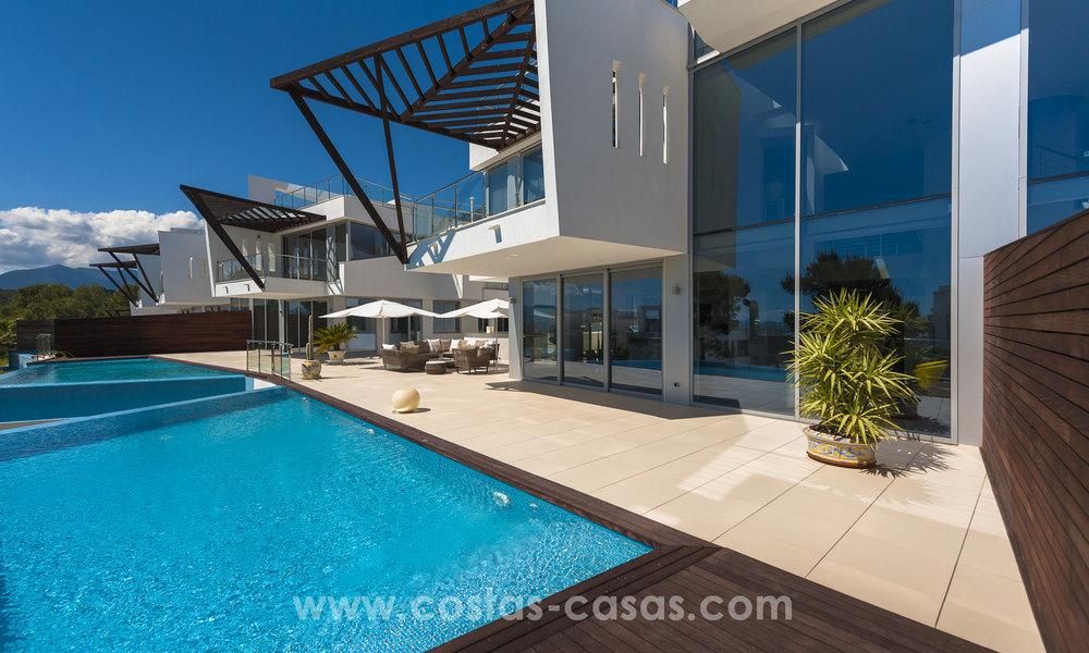Maisons ville modernes luxe vendre à Sierra Blanca, Mille d\'Or Marbella