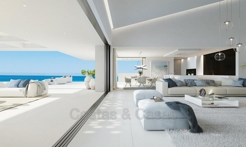 Appartements Modernes et Exclusives à vendre, en Bord de Mer, New Golden Mile, Marbella - Estepona 1302