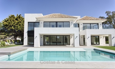 Nouvelle Construction, Villa Moderne, Contemporaine à vendre, à Marbella West 1481