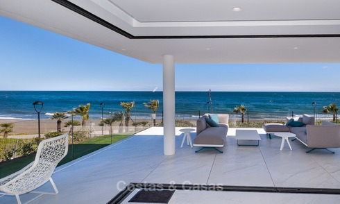 Appartements Modernes et Exclusives à vendre, en premier ligne de Mer, New Golden Mile, Marbella - Estepona 3005