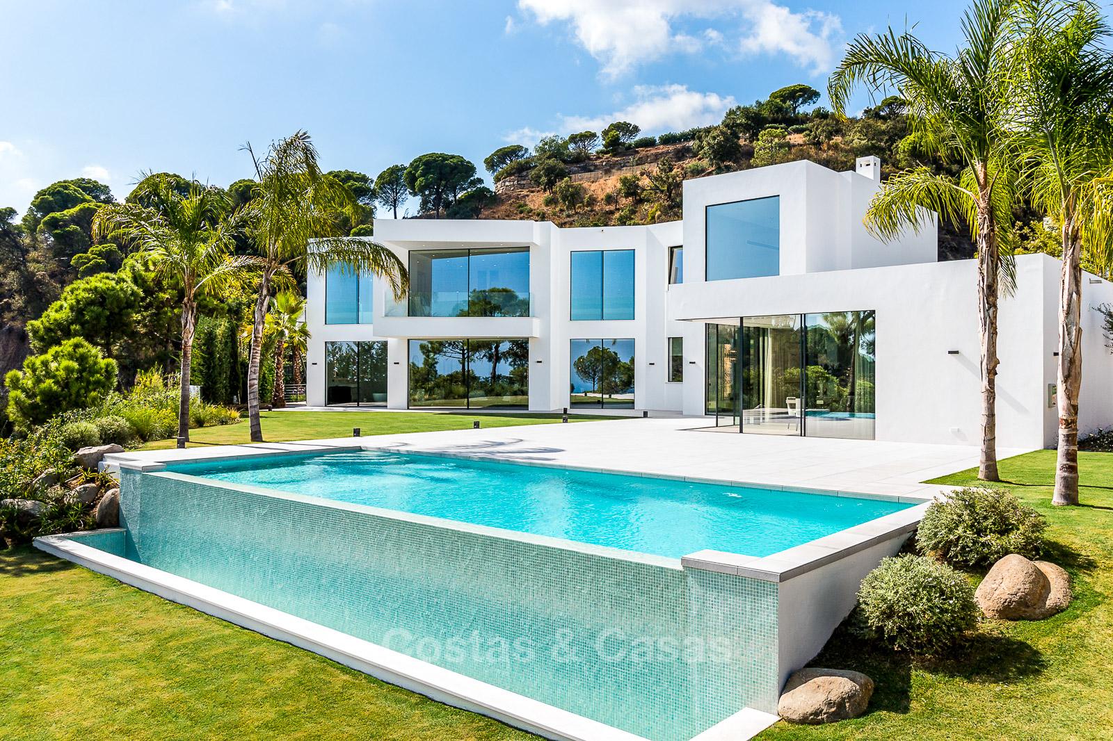 Nouvelle villa de luxe moderne élégante à vendre El Madronal ...