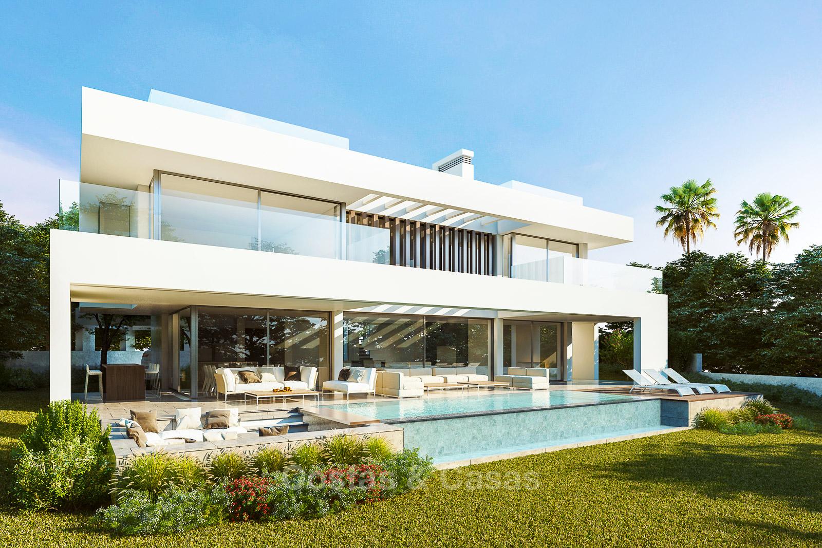 Villa de luxe, style contemporaine moderne à vendre avec des vues ...