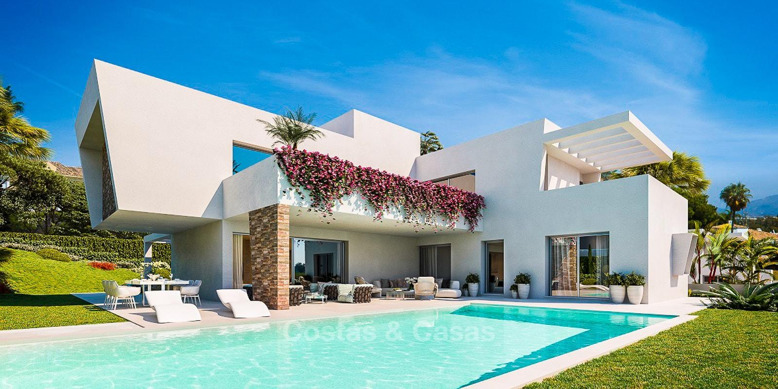 Villas luxe vendre prix attractif idéalement situées Est Estepona ...