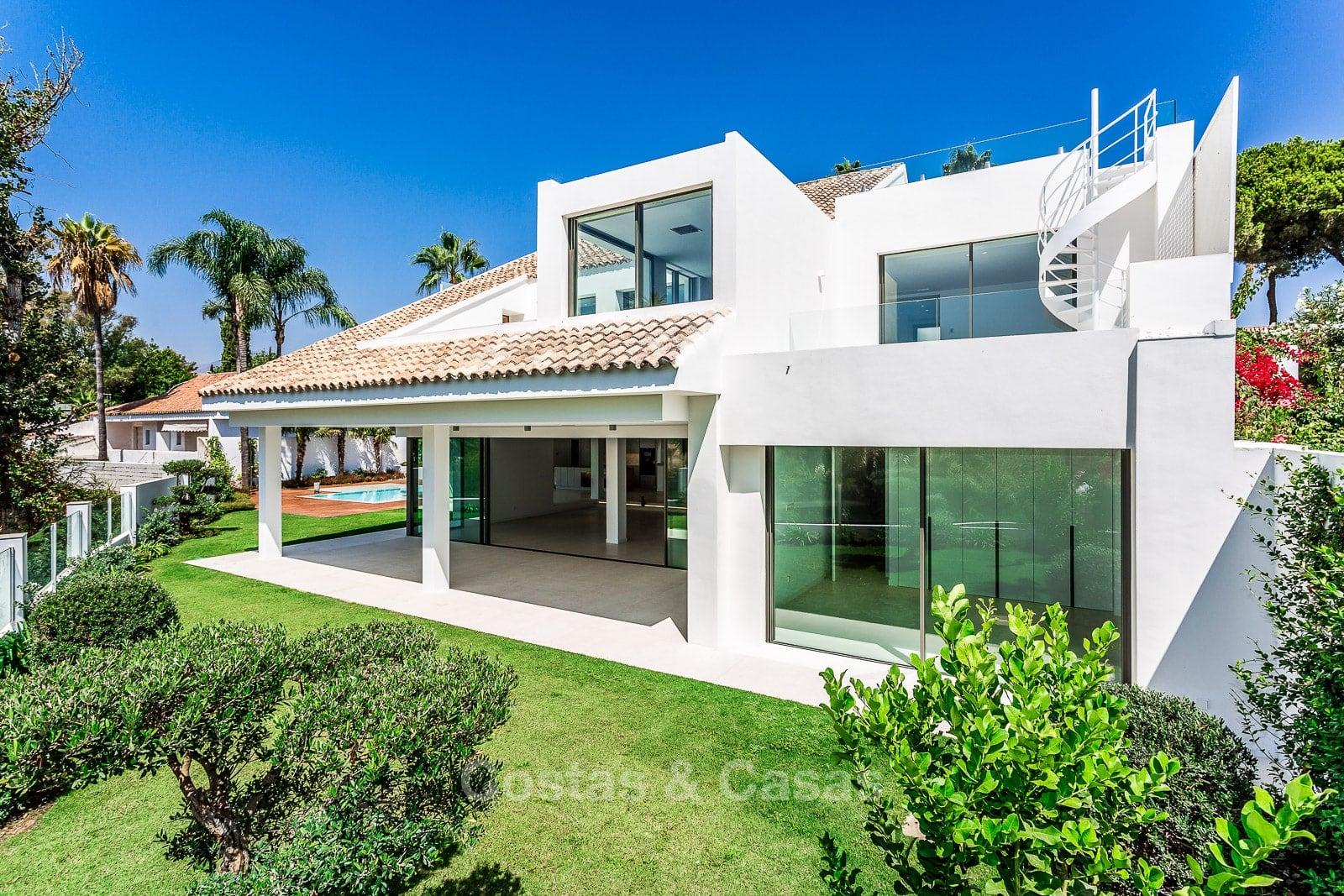 Exquise villa luxe moderne à vendre plage Puerto Banus Marbella
