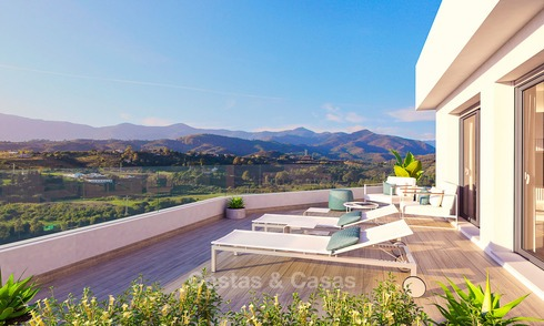A vendre, appartements de luxe style contemporain, New Golden Mile, Marbella - Estepona 9859