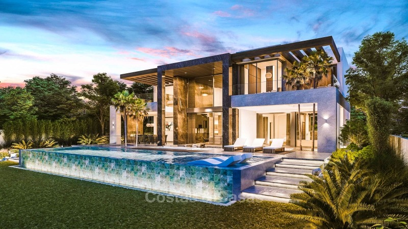 Villa de style contemporain à vendre sur le New Golden Mile - Estepona East, Marbella 10855